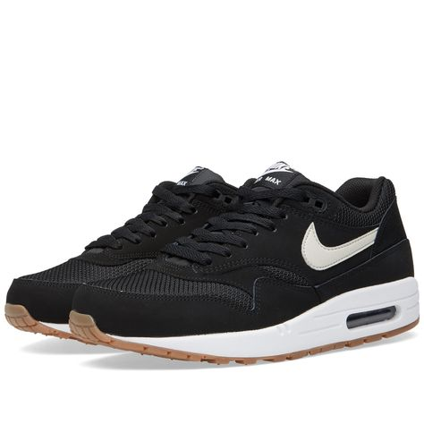 air max 1 essential black light bone white