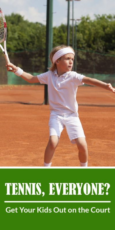 Tennis For Kids What You Need To Get Started Use These Helpful Tips And Advice To Get Your Kids Out On The C Play Tennis How To Play Tennis Tennis Pictures