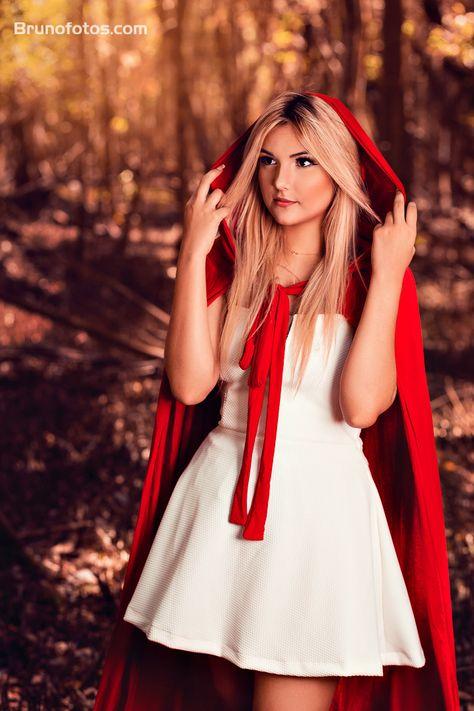 Ensaio Temático da Chapeuzinho Vermelho realizado no Bosque em Fortaleza  Capuz-vermelho-ensaio-fotografico-temático