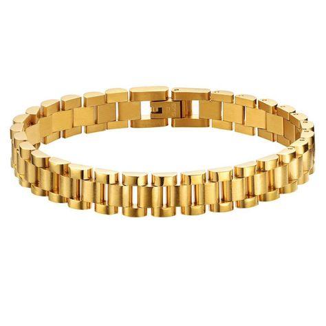 Brilliant Bijou 14k Yellow Gold Medical 6 Anchor Link Child ID Bracelet 6 inches