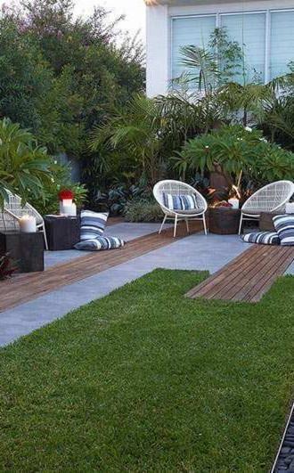 Amenager Un Jardin Tout En Longueur Amenagement Jardin Longueur