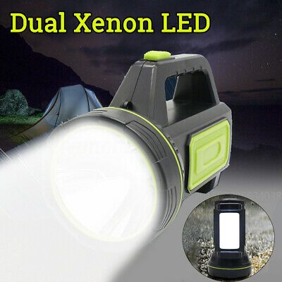 Advertisement Ebay 1 Million Dual Led Rechargeable Work Light Torch Candle Camping Spotlight Rechargeable Work Light Work Lights Candle Power