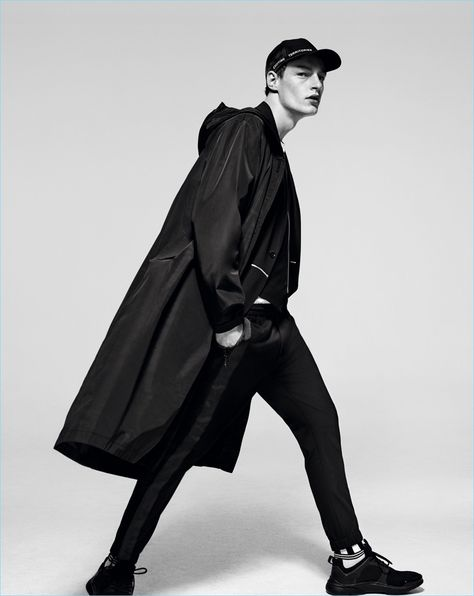 Zara Man turns its spring-summer 2017 campaign over to Steven Meisel. The talented fashion photographer utilizes black and white photography for a stern outing. Models Tim Schuhmacher, Arthur Gosse, and Roberto Sipos take to the studio for the advertisement. Embracing clothes for the global jet-setter who means business, the trio models desirable spring coats. The... [Read More]