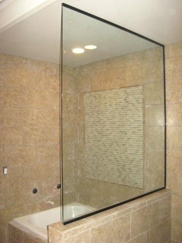 Shower Door Half Wall Walls Profile Extension Half Wall Shower Half Walls Tub To Shower Conversion