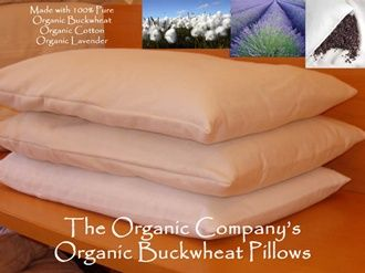 Buckwheat Husk Pillow and Pillowcase