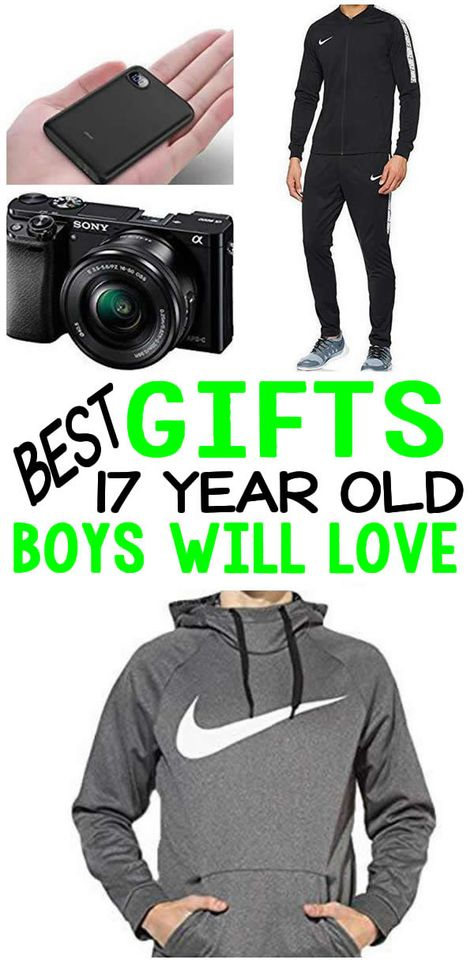 BEST Gifts 17 Year Old Boys Top Gift Ideas That Yr Will