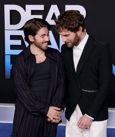 See Ben Platt and Noah Galvin at Dear Evan Hansen Premiere