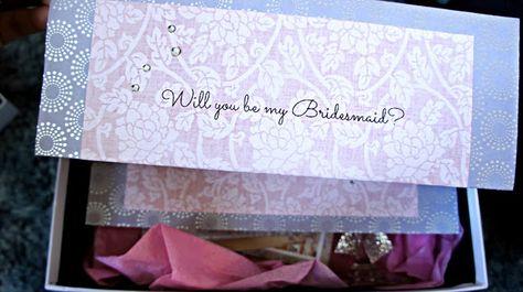 BelindaSelene: Will You Be My Bridesmaid? DIY Gift Box