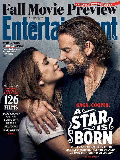 Lady Gaga and Bradley Cooper headline 'A Star Is Born' for EW's Fall Movie Preview