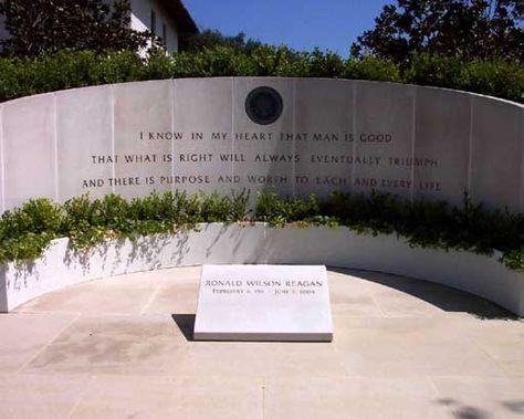 tomba di Presidenti americani Ronald Reagan- Cerca con Google