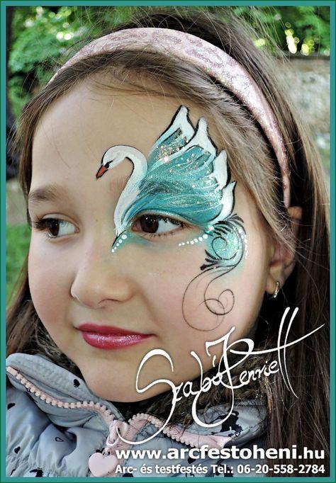 Schwanenauge Design Too Faced Kostum Makyaji Ve Fantastik Makyaj