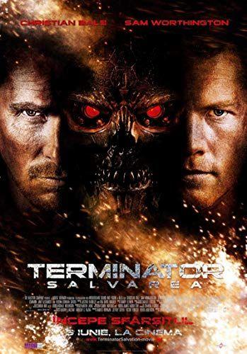 Terminator Salvation 2009 In 2020 Terminator Full Movies Christian Bale