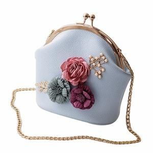 Luxury Handbags, Fashion Handbags, Fashion Bags, Style Fashion, Clutch Purse, Coin Purse, Crossbody Bags, Flower Bag, Fabre