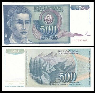 1993 YUGOSLAVIA 50000 World Currency 50,000 Hyperinflation Dinara P-130