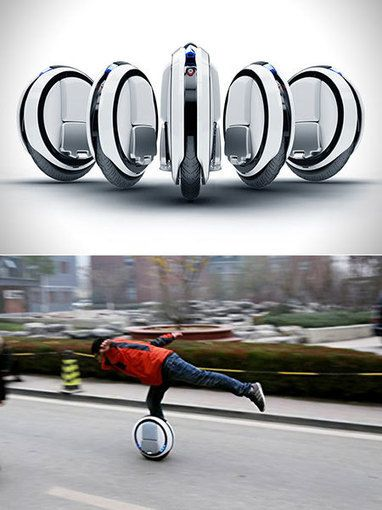 Ninebot One E+ Unicycle with Waterproof Level (Cool Gadgets Car) - W Technology