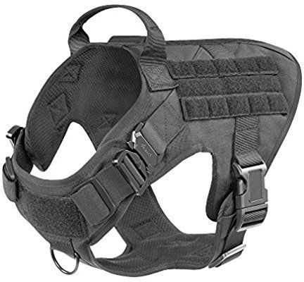 Amazon Com Icefang Working Dog Harness Military Tactical K9