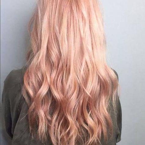 Hot take: 'Blorange' hair is the exact same as 'rose gold'