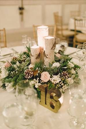 Desiree ryans snowy warren nj wedding by lauren fair desiree ryans snowy warren nj wedding by lauren fair photography pine cone winter weddings and aspen junglespirit