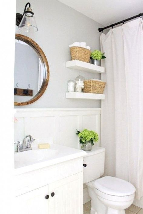 46 Simple Guest Bathroom Makeover Ideas On A Budget Bathroom Remodel Small Budget Master Bathroom Makeover Bathroom Remodel Designs