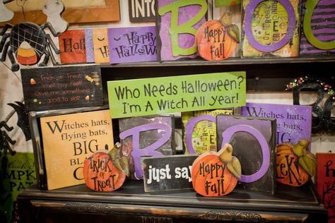 Halloween goodies: I can't wait to see products like this at An Affair of the Heart of Tulsa in July.