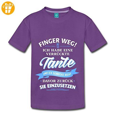 Finger Weg Ich Habe Eine Verrückte Tante Kinder T-Shirt von Spreadshirt®