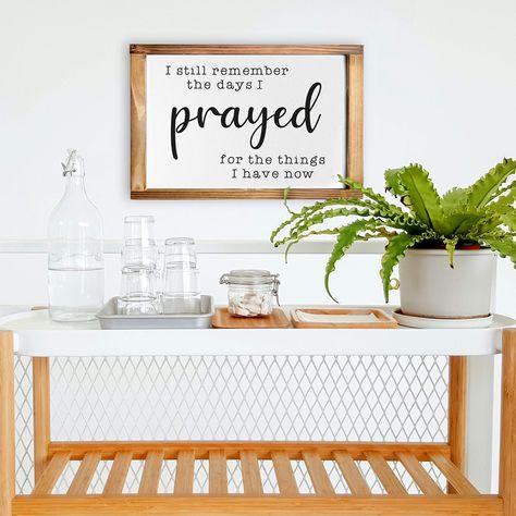Cute Room Decor w/ Solid Wood Frame