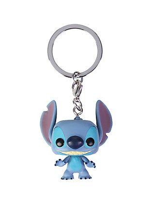 Disney Keyring Stitch Keychain Metal Key Ring Primark