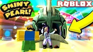 Shiny Giant Pearl Secret Pet And Meeting Mayrushart Roblox