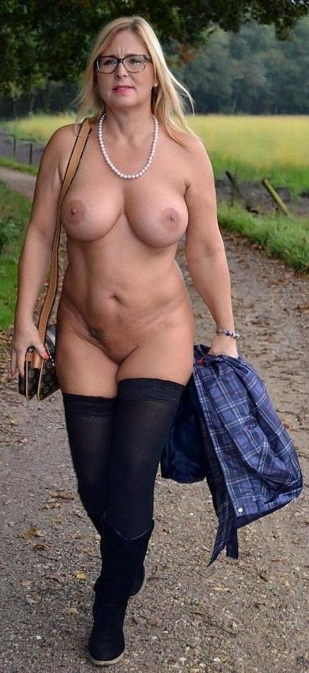 Mature topless models