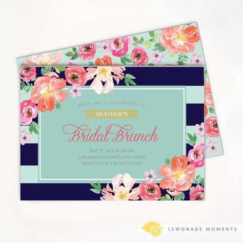 41ef200cf669 Bridal Brunch Invitation