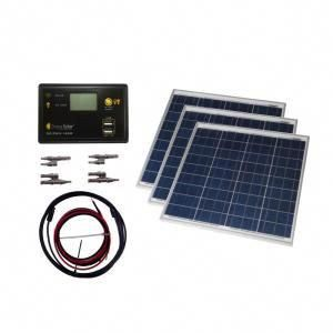 150 Watt Off Grid Solar Panel Kit Solarpanels Solarenergy Solarpower Solargenerator Solarpanelkits Solarwa In 2020 Solar Power Kits Off Grid Solar Panels Solar Panels