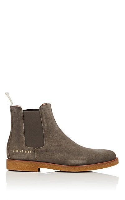 Common Projects Suede Chelsea Boots | Barneys New York