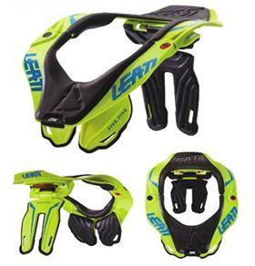 Leatt Gpx 5 5 Lime Neck Brace Braces Neck New Helmet