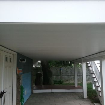 Underdeck Panel By Zip Up Deck Building Plans Building A Deck Deck Ceiling Ideas