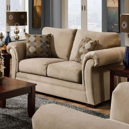 I pinned this Addison Loveseat from the Living Room Under