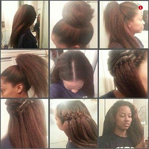65 Ideas Crochet Hair Styles Straight Hair Kinky Curly