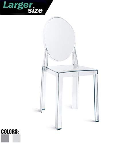 Phenomenal 2Xhome Ghost Chair No Arm Side Chair With Back Clear Legs Forskolin Free Trial Chair Design Images Forskolin Free Trialorg