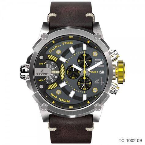 Timecode Marconi Dual Time Chronographs | TC-1002-09, TC-1002-11, TC-1002-12, TC-1002-13, TC-1002-15