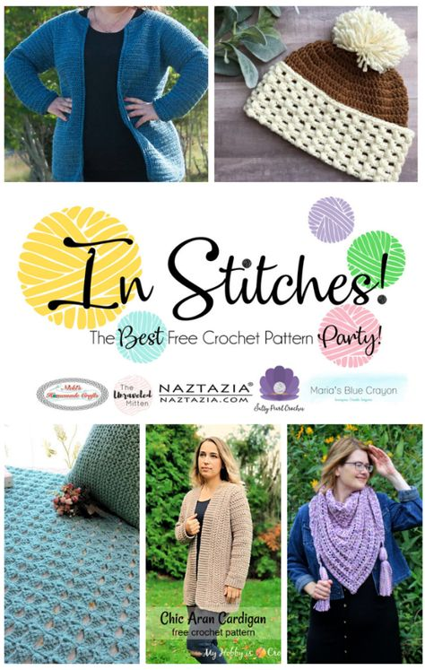In Stitches: Best Free Crochet Pattern Party #21   Projects to Try ...