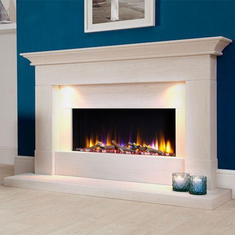Celsi Ultiflame Vr Parada Elite Illumia Electric Fireplace Suite In 2020 Fireplace Suites Electric Fireplace Suites Basement Fireplace