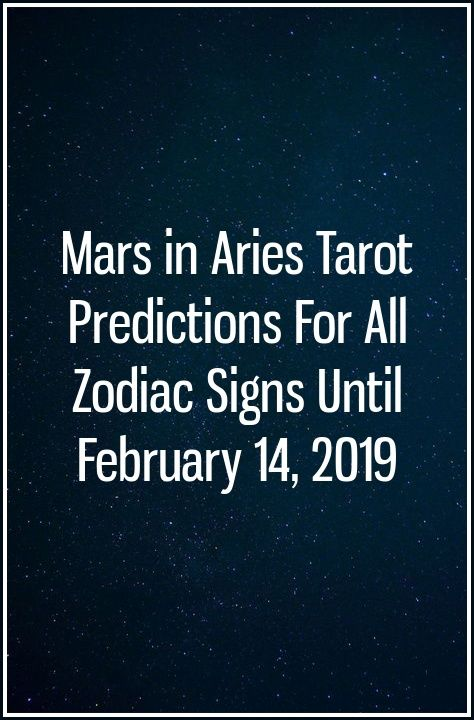 aries tarot february