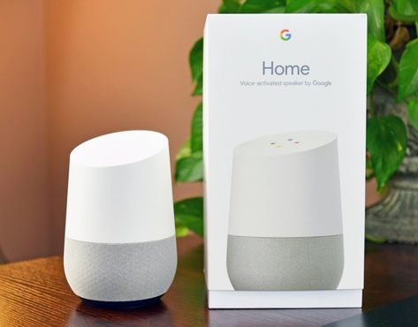 NEW Google Home Voice Activated Personal Assistant White Slate