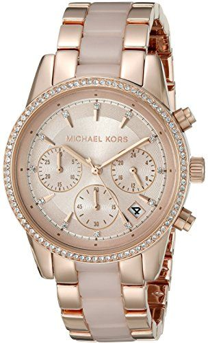 61130ad9877e Michael Kors Women s MK6307 Ritz Stainless Steel Casual Watch     Check  this awesome product by going to the link at the image.