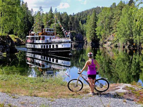 Kanalruta In Telemark Norway Future Travel Canal Travel