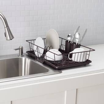 Stainless Steel Countertop Dish Rack With Images Apron Sink
