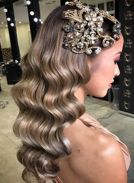 13 Delicious Ladies Hairstyles Curls Ideas Finger Wave