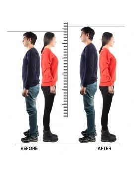 Increase height exercise