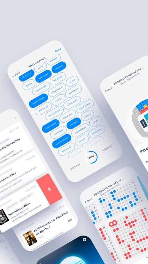 EventlyLife Ticket App