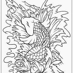 Realistic Coloring Pages Koi Fish Tattoo Coloring Pages Jeffersonclan Fish Coloring Page Adult Coloring Pages Free Adult Coloring Pages