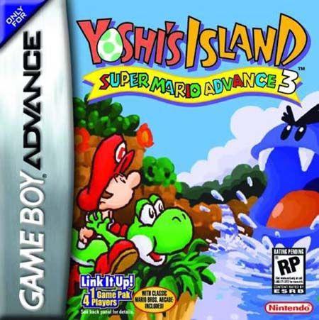 Yoshi S Island Super Mario Advance 3 Usa Gba Rom Gameboy